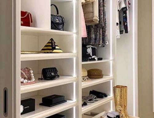 Quarentena e Como organizar o guarda roupa